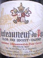 Clos du Mont-Olivet 1998 Chateauneuf-du-Pape
